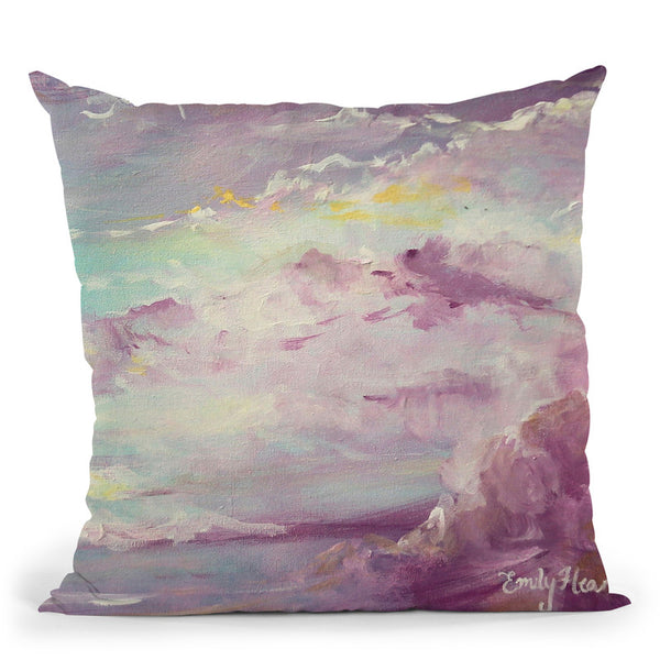 Shimmer Throw Pillow By Emily Heard - All About Vibe