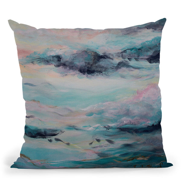 Spumoni Throw Pillow By Emily Heard - All About Vibe