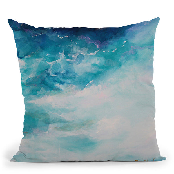 Submerge Throw Pillow By Emily Heard - All About Vibe