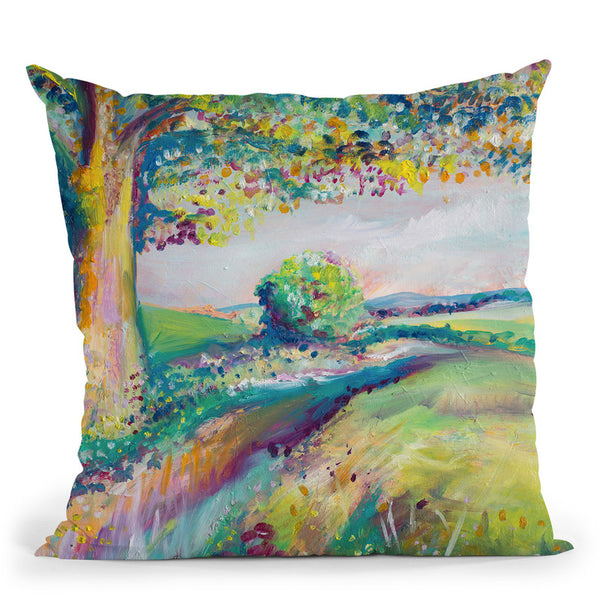 Tranquil Tree 2 Throw Pillow By Emily Heard - All About Vibe