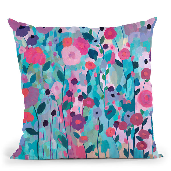 Joy Unleash Throw Pillow By Carrie Schmitt - All About Vibe