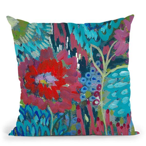 Shanti Throw Pillow By Carrie Schmitt - All About Vibe