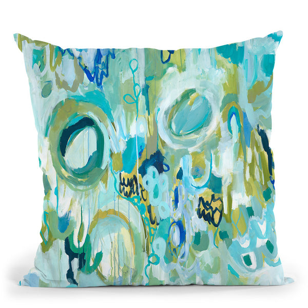 Ujjayi Pranayama Throw Pillow By Carrie Schmitt - All About Vibe