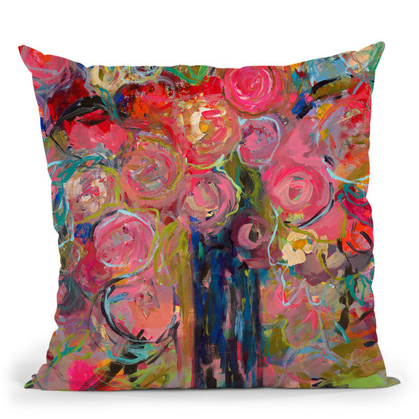 Release Throw Pillow By Carrie Schmitt - All About Vibe