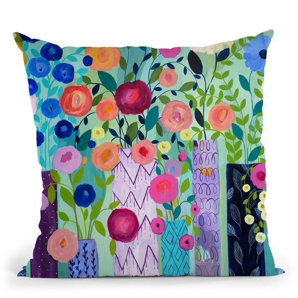 Ch150813-01 Throw Pillow By Carrie Schmitt - All About Vibe