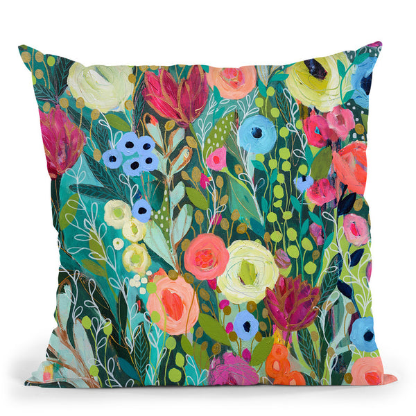 Into The Depths Throw Pillow By Carrie Schmitt - All About Vibe