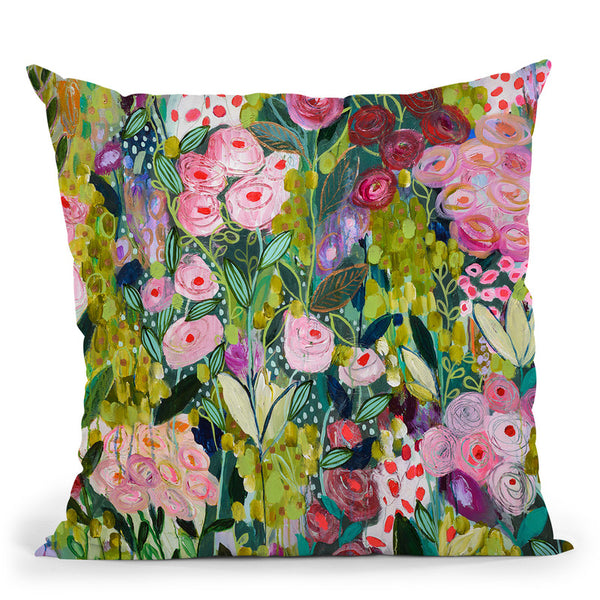 Illumination Throw Pillow By Carrie Schmitt - All About Vibe
