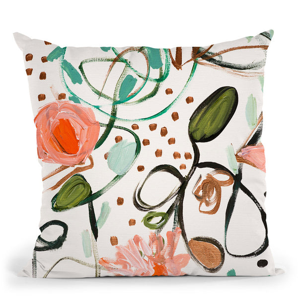 Deborahs Courage Throw Pillow By Carrie Schmitt - All About Vibe