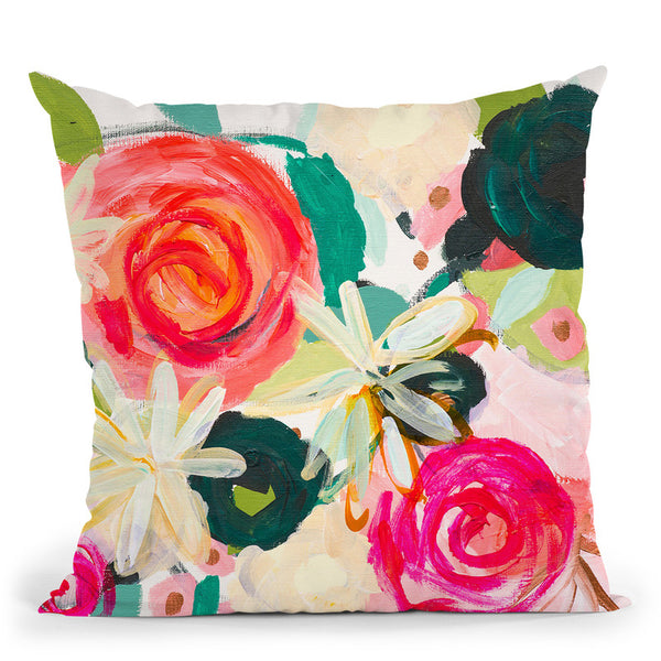 Deborahs Generosity Throw Pillow By Carrie Schmitt - All About Vibe