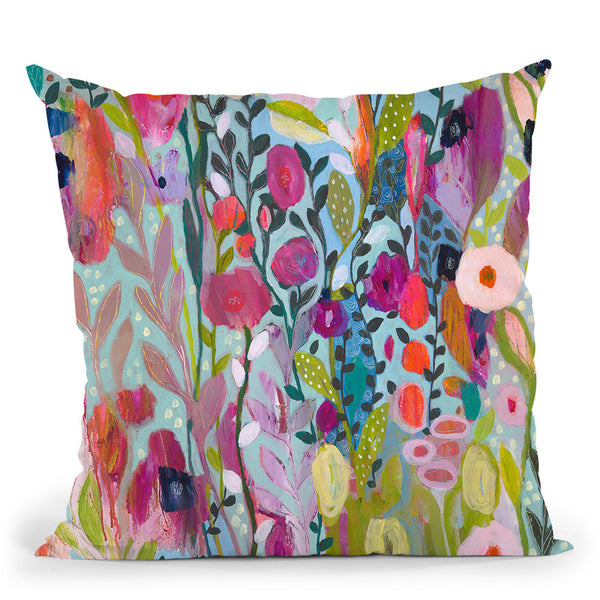 Flow In The Divine Throw Pillow By Carrie Schmitt - All About Vibe
