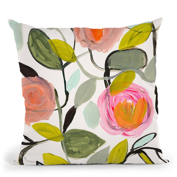 Ginas Home Throw Pillow By Carrie Schmitt - All About Vibe