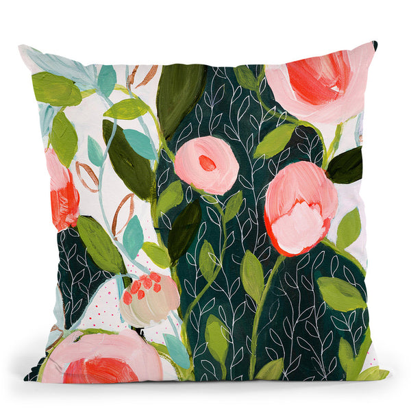 Julies Faith Throw Pillow By Carrie Schmitt - All About Vibe