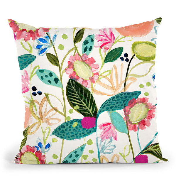 Spontaneous Throw Pillow By Carrie Schmitt - All About Vibe