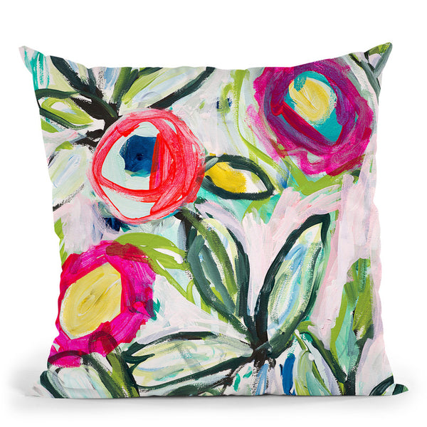 Susans Surprise Throw Pillow By Carrie Schmitt - All About Vibe