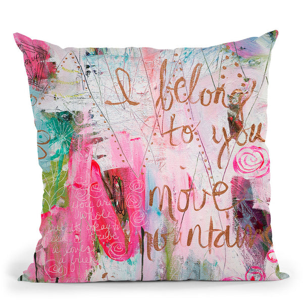 You Are Whole Throw Pillow By Carrie Schmitt - All About Vibe