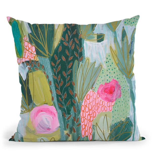 Mati'S Adventure Throw Pillow By Carrie Schmitt - All About Vibe