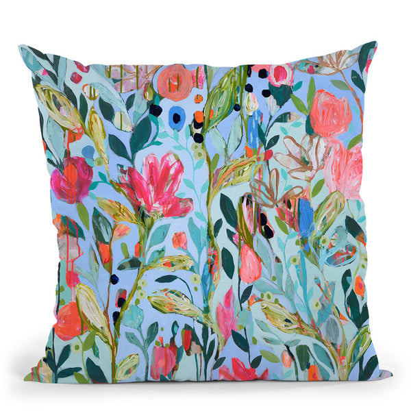 On Not In Throw Pillow By Carrie Schmitt - All About Vibe