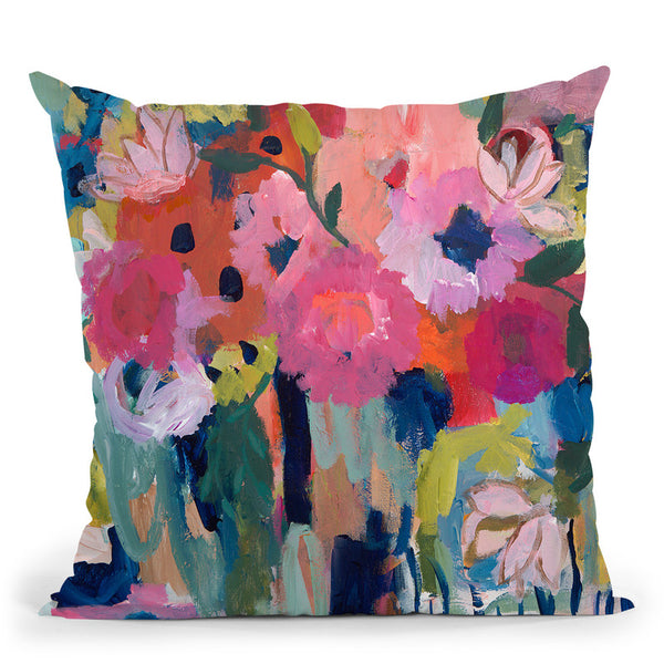 Always On My Mind Throw Pillow By Carrie Schmitt - All About Vibe