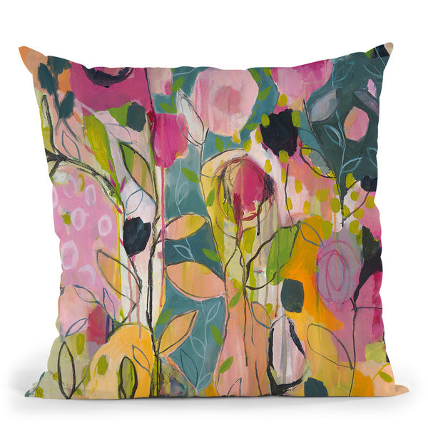 Quiet Reflection Throw Pillow By Carrie Schmitt - All About Vibe