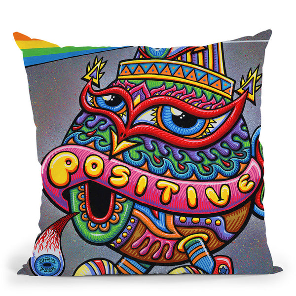 Activated Turtle Cap Throw Pillow By Chris Dyer - All About Vibe