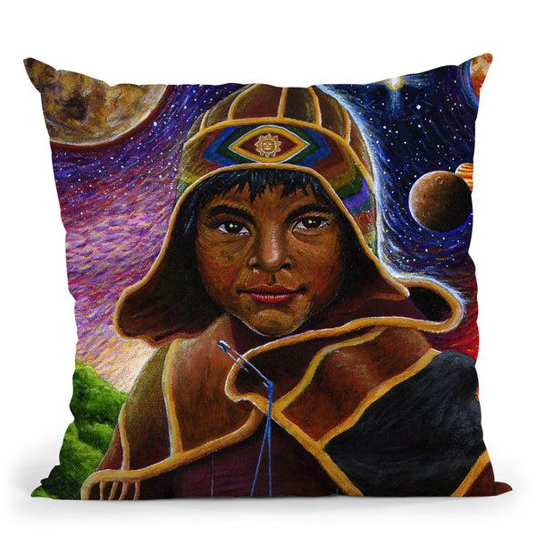 Cholito Mystico Throw Pillow By Chris Dyer - All About Vibe