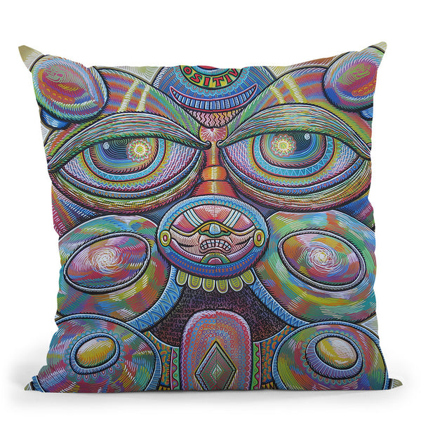 Conscious Catalyst Throw Pillow By Chris Dyer - All About Vibe