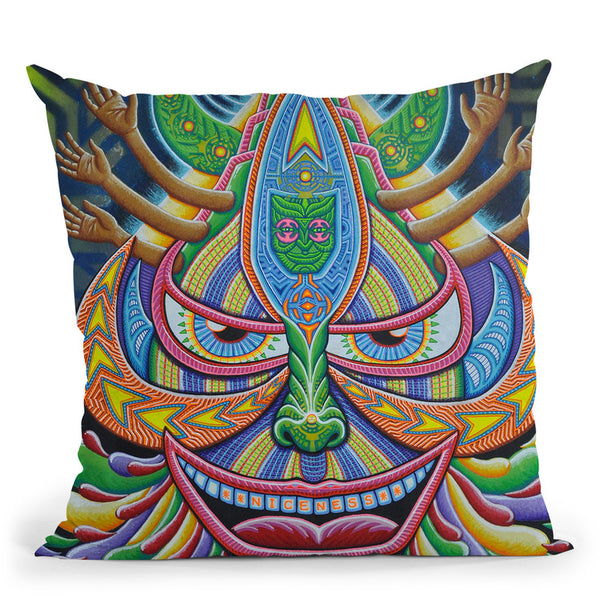 Galaktic Alchemist Throw Pillow By Chris Dyer - All About Vibe