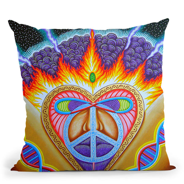 Givher Throw Pillow By Chris Dyer - All About Vibe