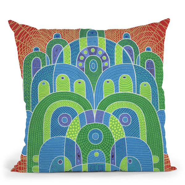 Healing Medicine Throw Pillow By Chris Dyer - All About Vibe