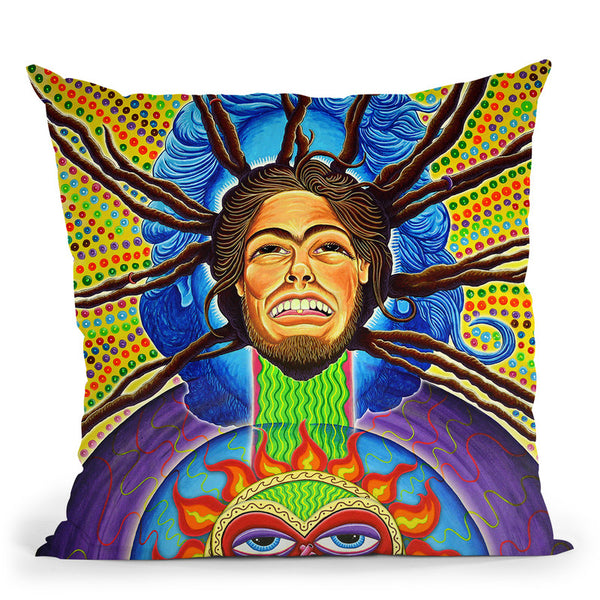 Highrie Heart Throw Pillow By Chris Dyer - All About Vibe