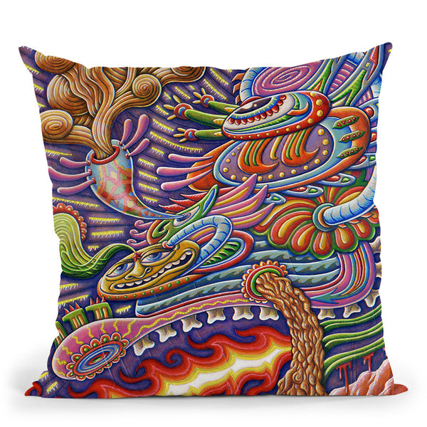 Humanitree Throw Pillow By Chris Dyer - All About Vibe