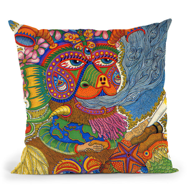 Life Throw Pillow By Chris Dyer - All About Vibe