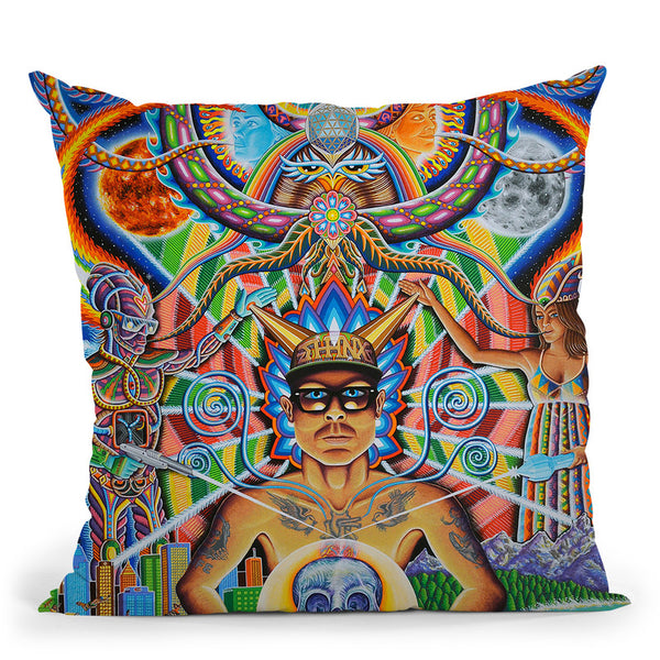 Moment Of Truth Throw Pillow By Chris Dyer - All About Vibe