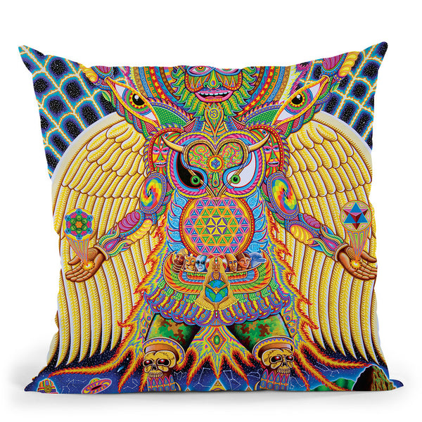 Neo Human Evolution Throw Pillow By Chris Dyer - All About Vibe