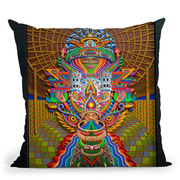 The Purge Throw Pillow By Chris Dyer - All About Vibe