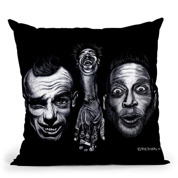 Another-Demention Throw Pillow By Chris Dyer - All About Vibe