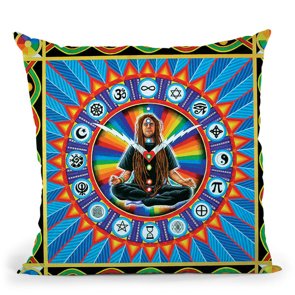 Time For Oneness Throw Pillow By Chris Dyer - All About Vibe