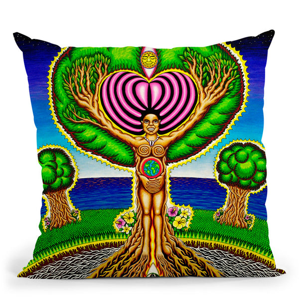 Trees Got Soul Throw Pillow By Chris Dyer - All About Vibe