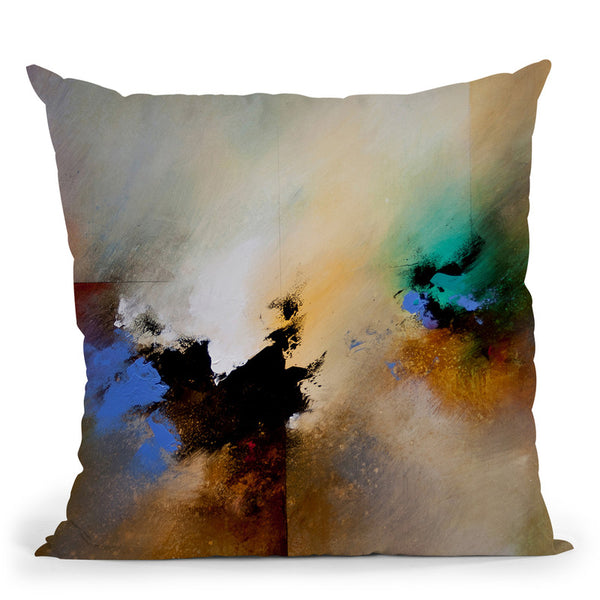 Clouds Connected Ii Throw Pillow By Ch Studios - All About Vibe