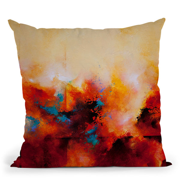 Light Strides Throw Pillow By Ch Studios - All About Vibe