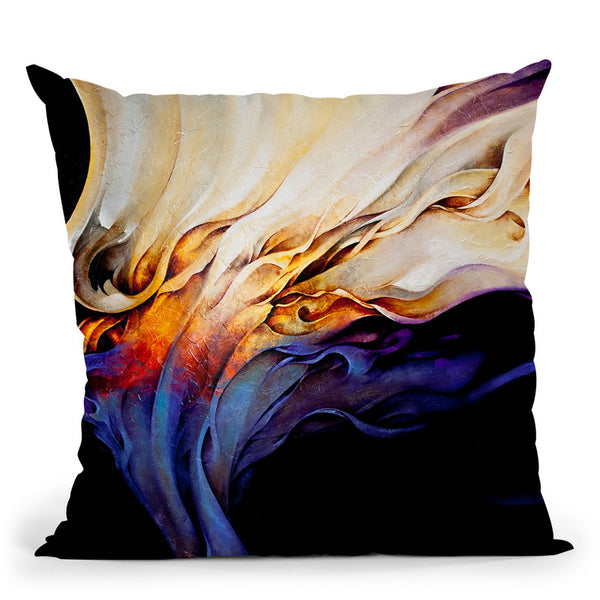 Evoke Throw Pillow By Ch Studios - All About Vibe
