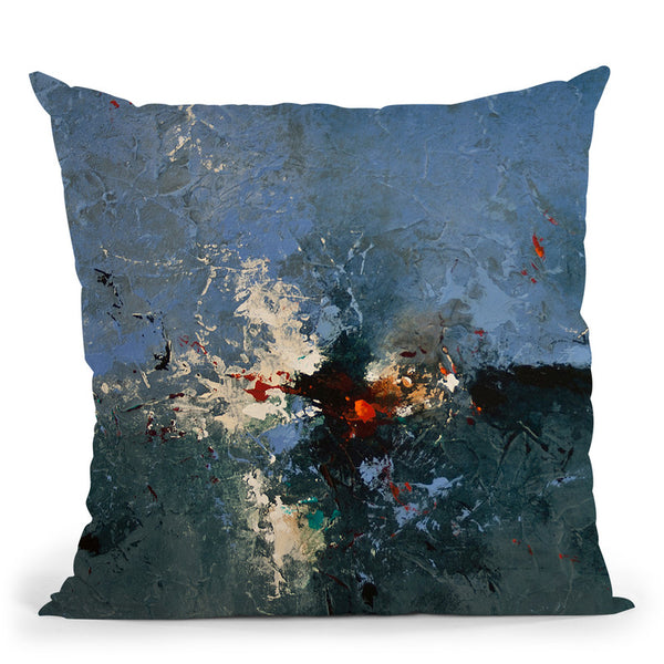Night Lights Throw Pillow By Ch Studios - All About Vibe
