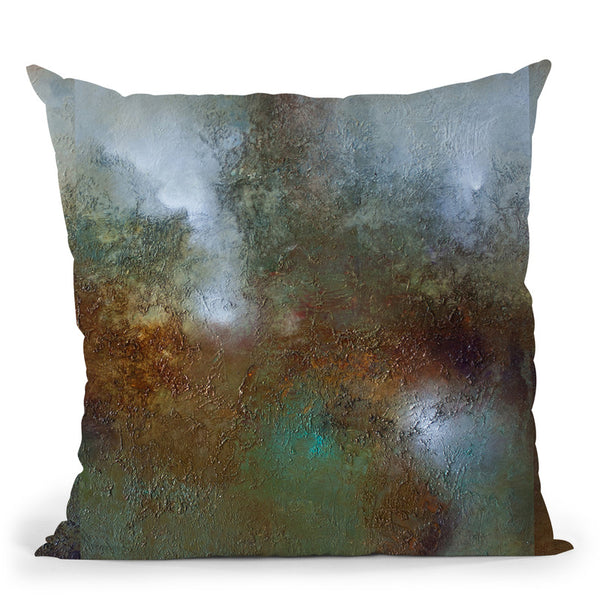 Peaceful Place Throw Pillow By Ch Studios - All About Vibe