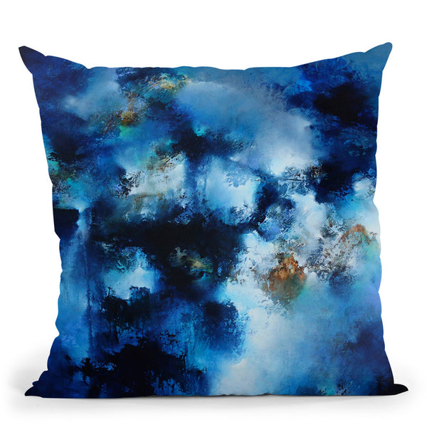 Deepest Mirage Throw Pillow By Ch Studios - All About Vibe
