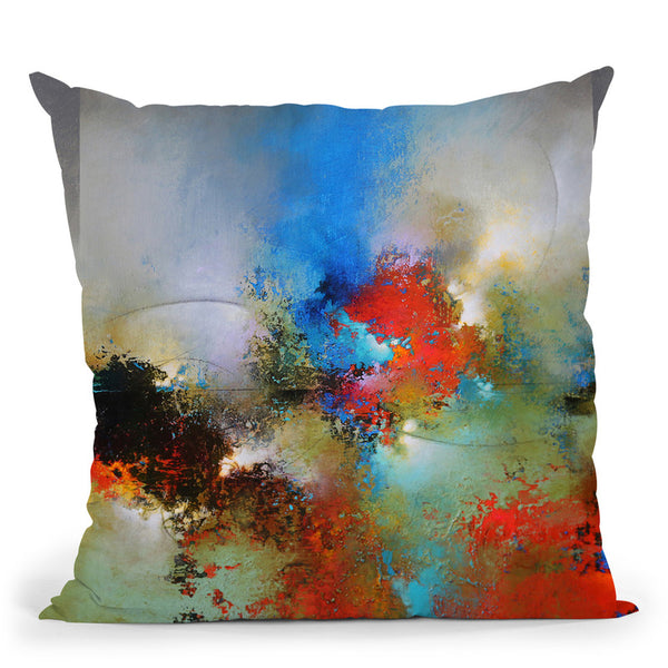 Into The Continuum 1 Throw Pillow By Ch Studios - All About Vibe
