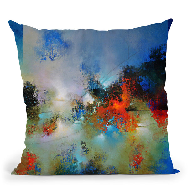 Into The Continuum 2 Throw Pillow By Ch Studios - All About Vibe