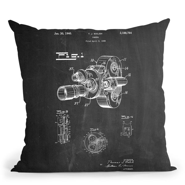 Camera Walsh New Throw Pillow By Cole Borders - All About Vibe