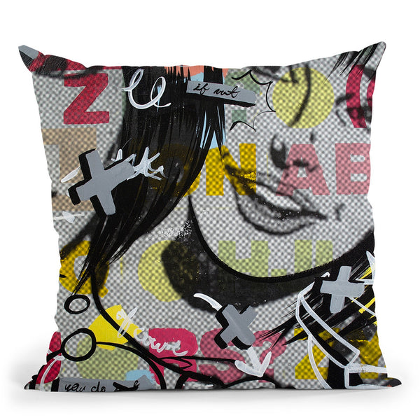 Apologies Throw Pillow By Dan Monteavaro - All About Vibe