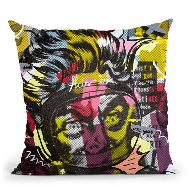 Only Love Throw Pillow By Dan Monteavaro - All About Vibe