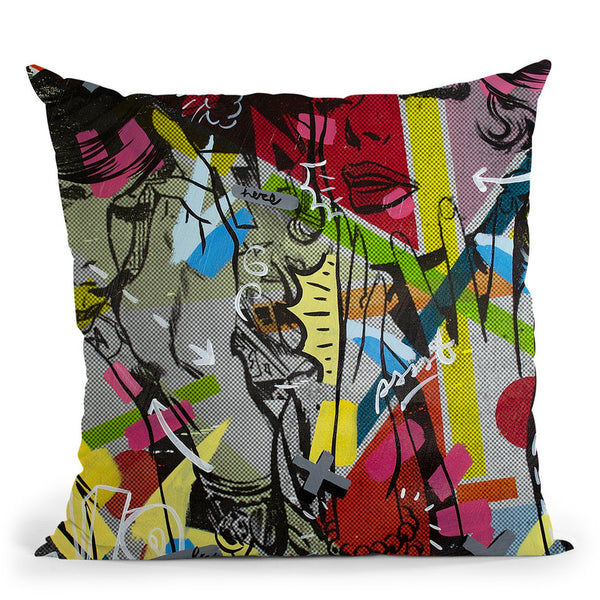 This Is Only Throw Pillow By Dan Monteavaro - All About Vibe